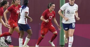 U.S. women's soccer loses to Canada in Tokyo Olympics, will play for bronze