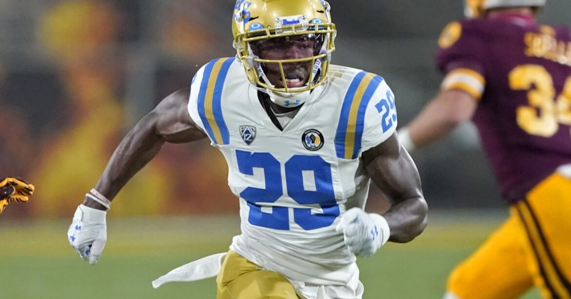 UCLA receiver Delon Hurt suspended after he was charged with sexual battery