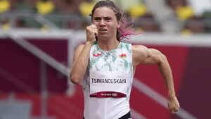 US says Belarus' effort to force Olympian to return home 'cannot be tolerated'