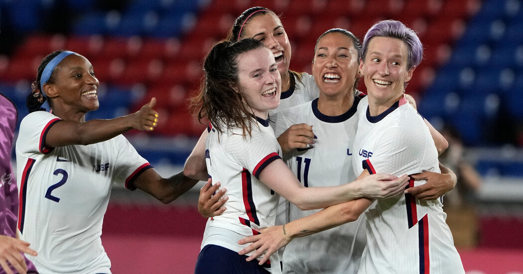 US Women Face the Netherlands in a Soccer Semifinal on Day 10 of the Games