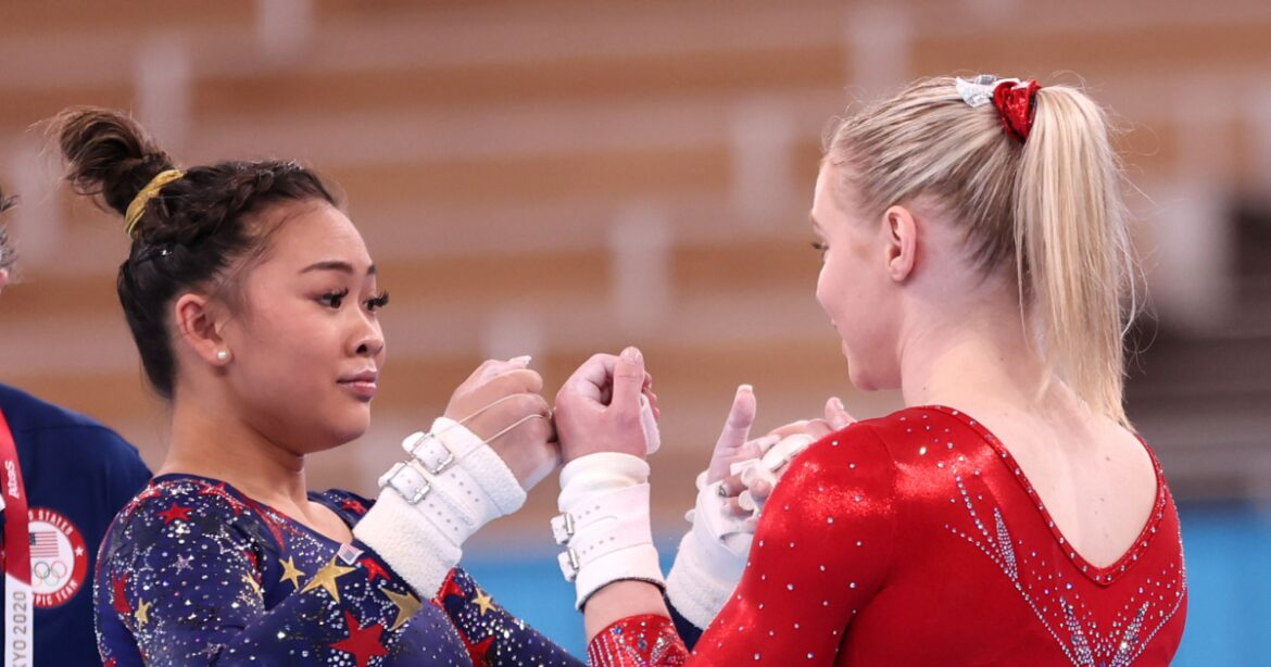 What's next for Olympic gold medalists Suni Lee and Jade Carey? College gymnastics