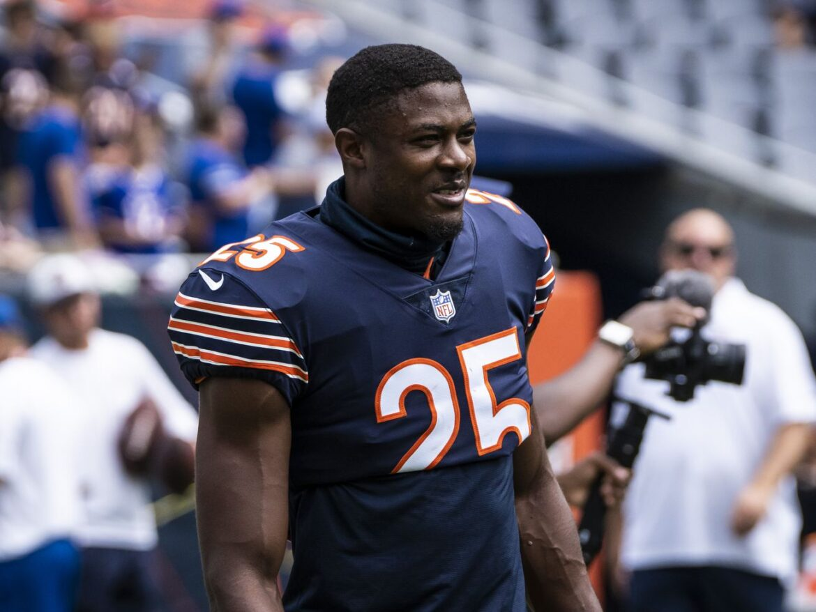 Which Bears players are fighting for a job Saturday?