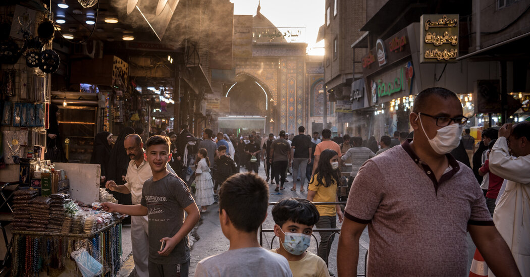 'There Is Chaos'; Iran-Backed Militias Battle Activists in a Holy Iraqi City