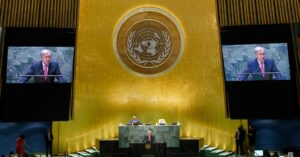'We Are on the Edge of an Abyss,' U.N. Secretary General Says