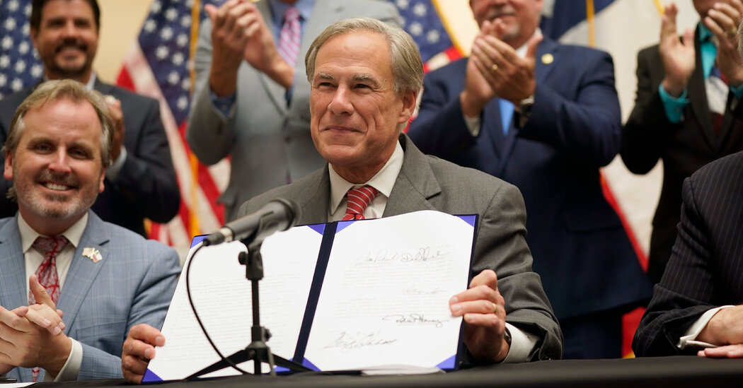 Abbott Signs Texas Election Law, Ending a Fierce Voting Rights Battle