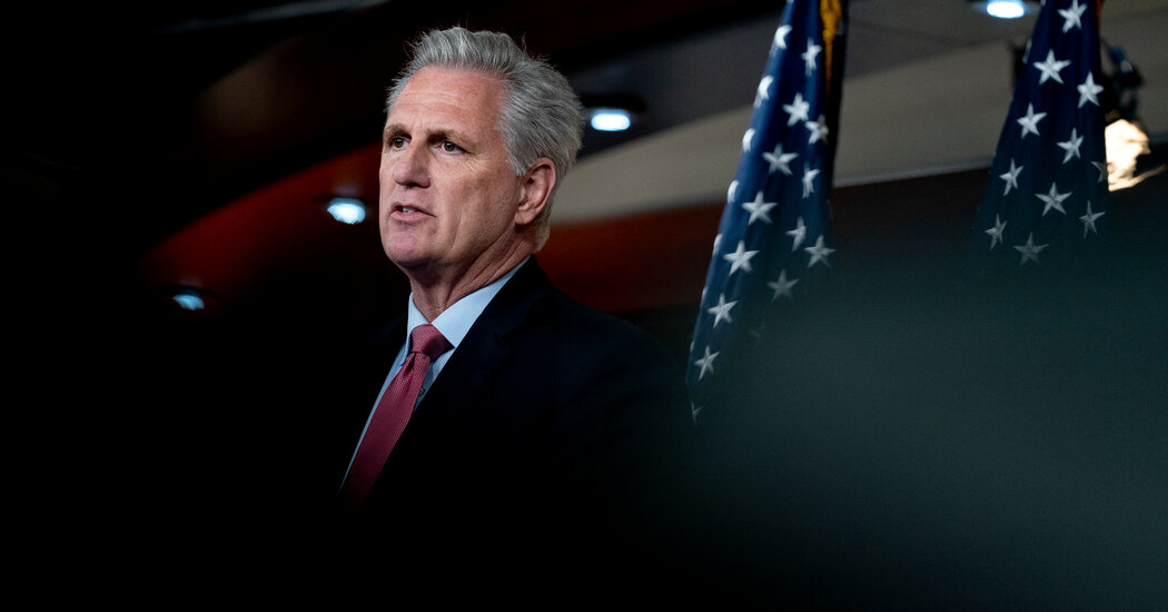 Kevin McCarthy Asks Supreme Court to End House Proxy Voting