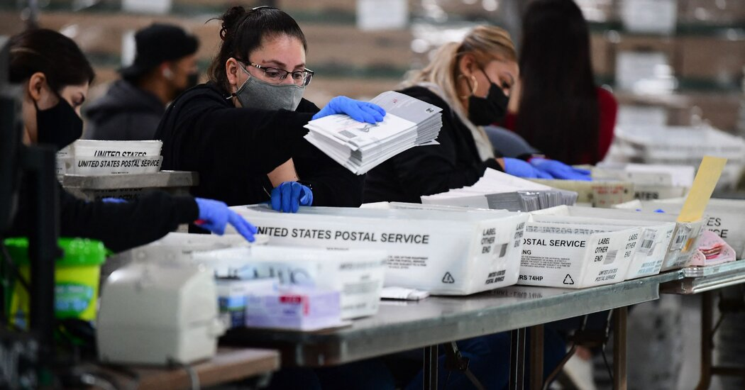 What the California Recall Means for the Future of Mail-in Voting