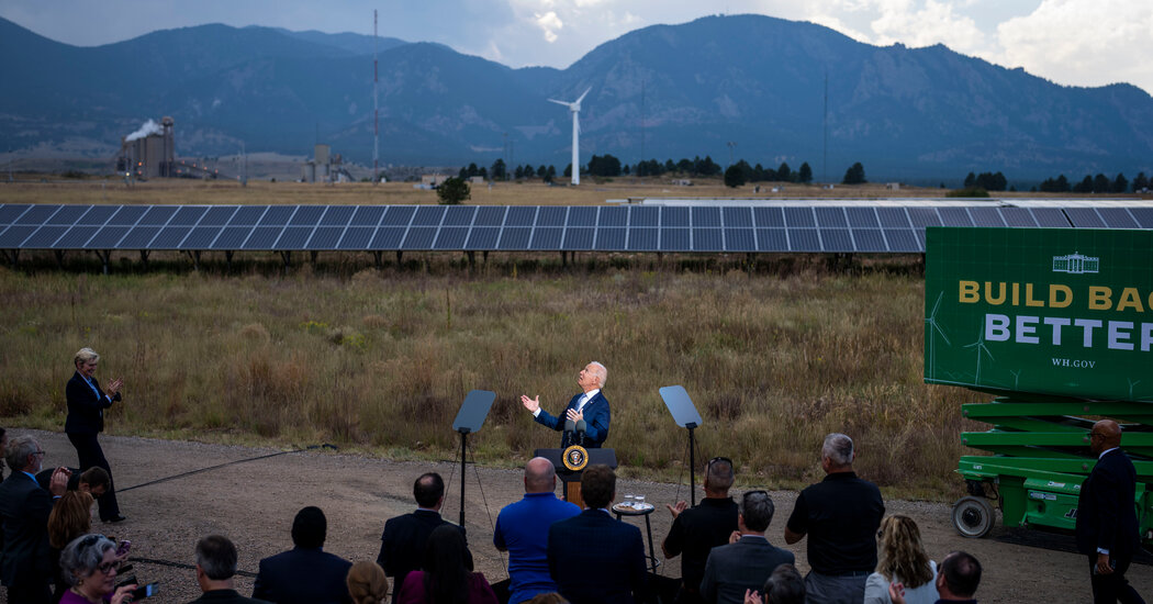 Biden Calls for Action on Climate Change
