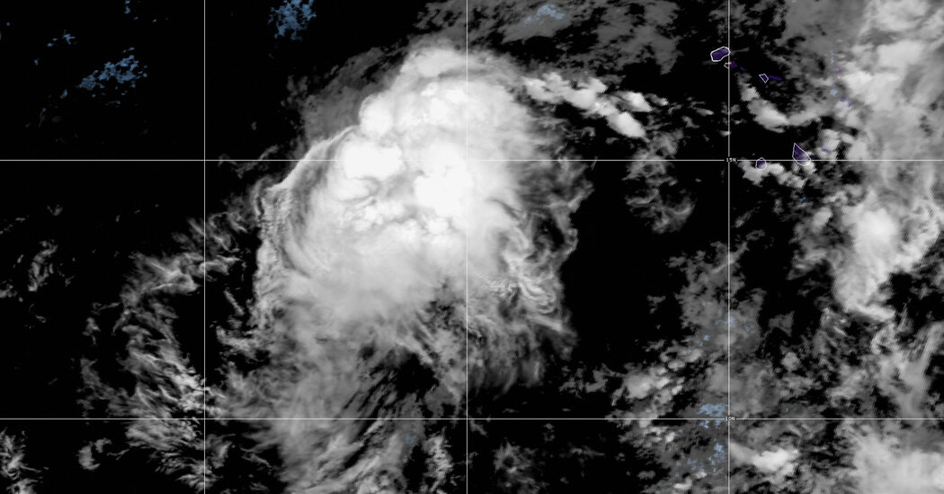 Tropical Storm Rose Forms West of Africa