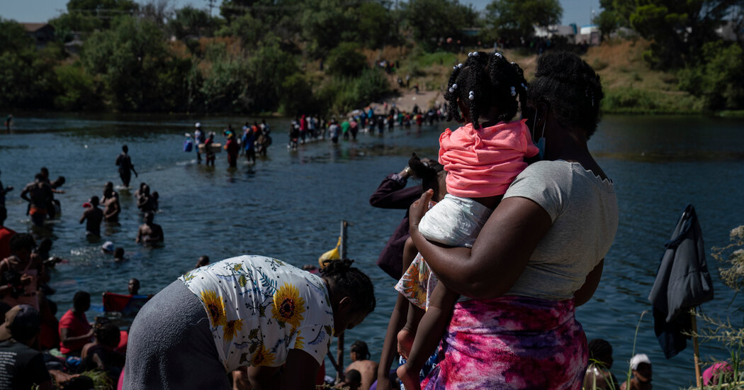 House Democrats Demand Answers About Treatment of Haitian Migrants