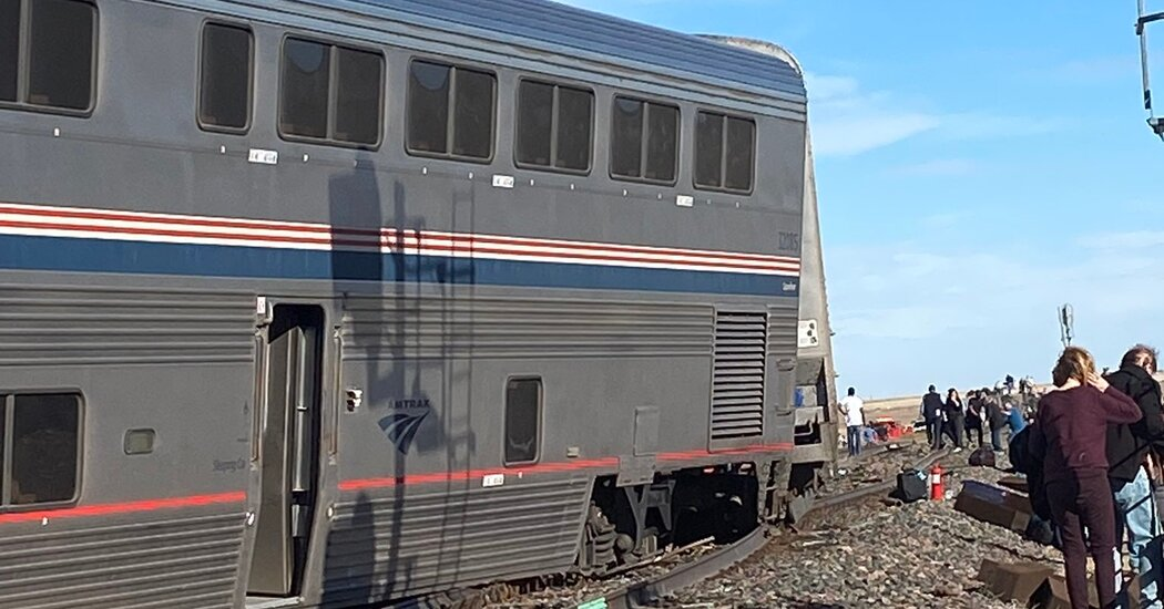 Amtrak Derailment: At Least 50 Hurt in Montana, Official Says