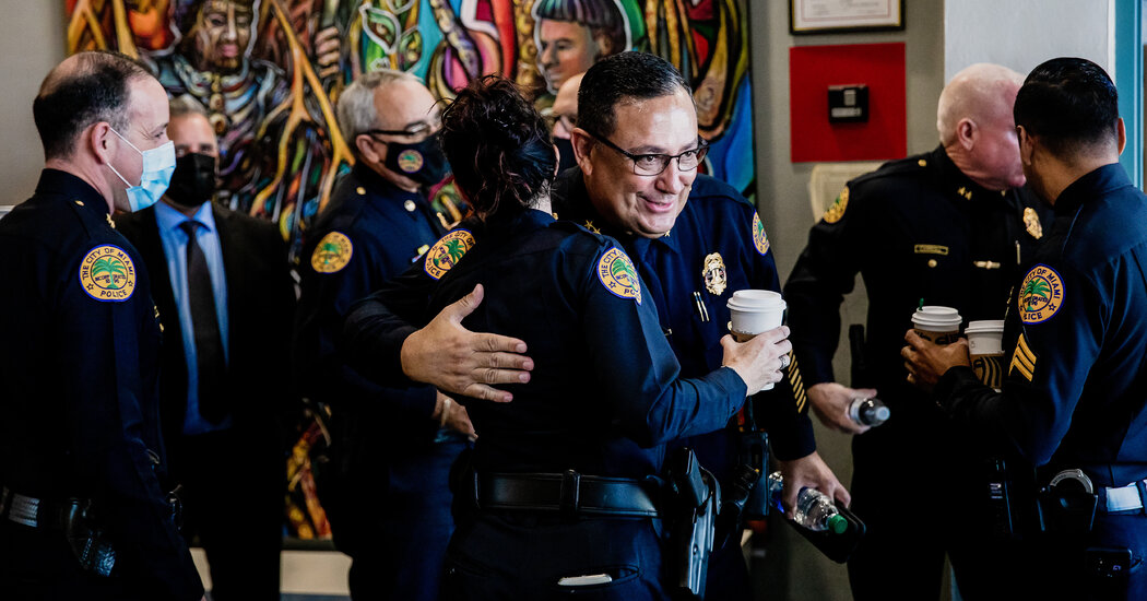 Latest Spat for Miami's Top Cop: Comparing City Leaders to Cuban Dictators