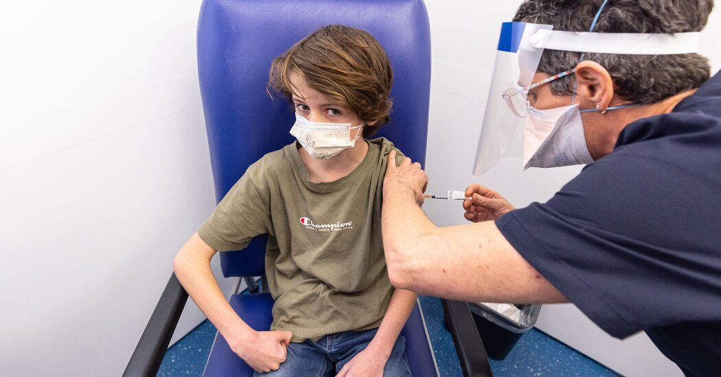 Australia Offers Covid Vaccines to Children 12 and Older