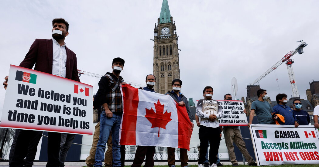 Canada Doubles Its Afghan Refugee Resettlement Target to 40,000 People