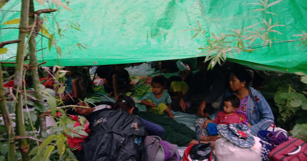 Cold, Frightened and Armed: In Myanmar's Jungles, a Struggling Resistance