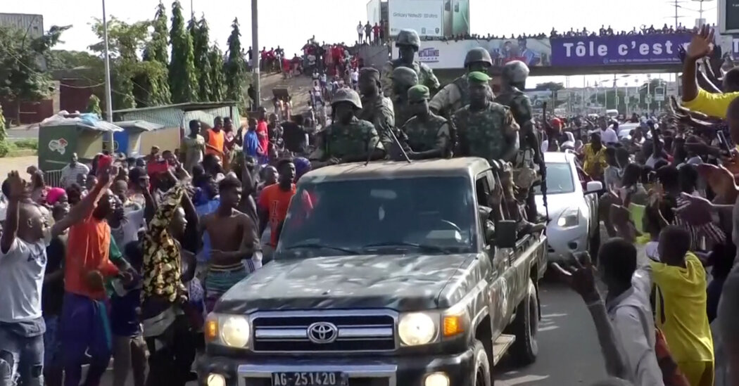 Crowds Celebrate in Guinea After Military Official Stages Coup