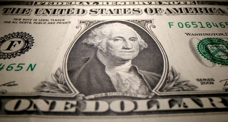 Dollar near one-week top amid rise in yields, caution before ECB