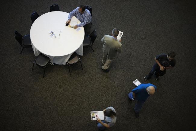 Employment Fell in 19 U.S. States in August in Uneven Recovery