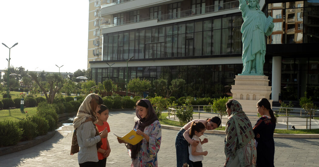 For Afghan Refugees, a Mix of Luxury and Trauma at Albania's Beach Resorts