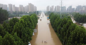 How Record Rain and Officials' Mistakes in China Led to Drownings on a Subway