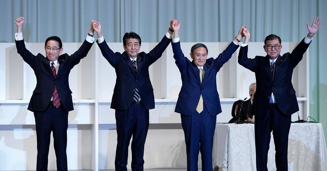 Japan's Leader Is Stepping Down. Here's Who Might Replace Him.