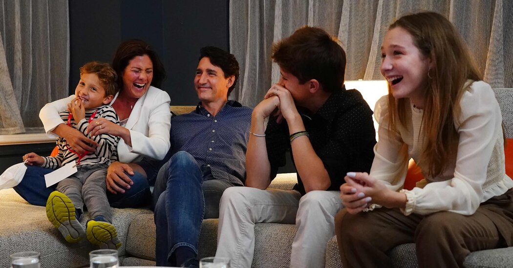 Justin Trudeau Projected to Remain Prime Minister of Canada