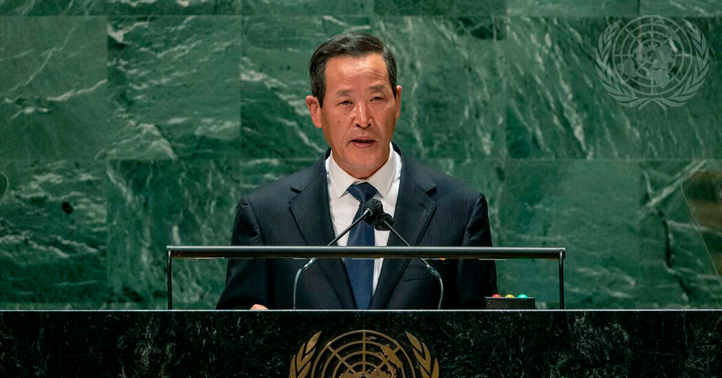 North Korea Launches Projectile as Country's Envoy Speaks at U.N.