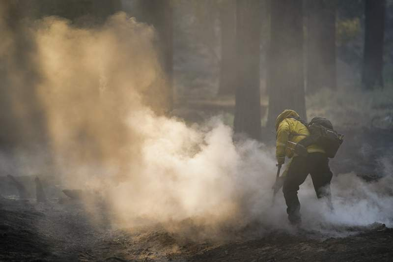 Official reports progress in defending Lake Tahoe from fire
