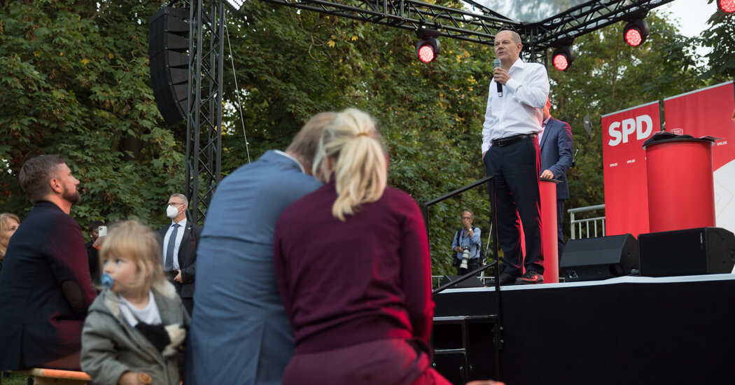 Olaf Scholz Is Running as the Next Angela Merkel, and It Seems to Be Working