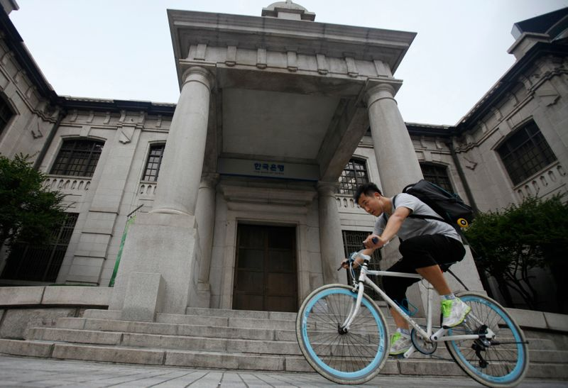 S.Korea central bank expects policy rate hike to slow household debt growth