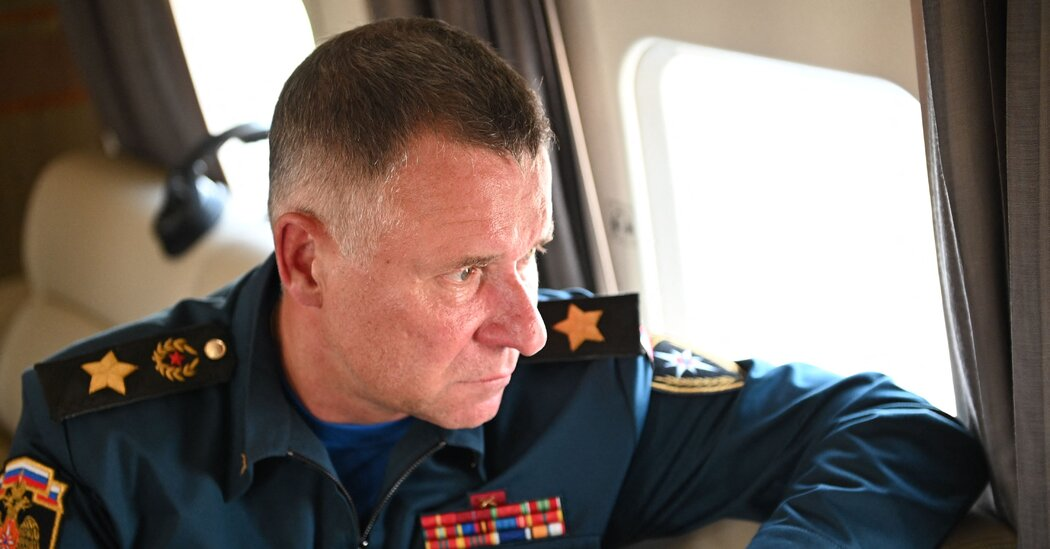 Senior Russian Minister Dies During Drill