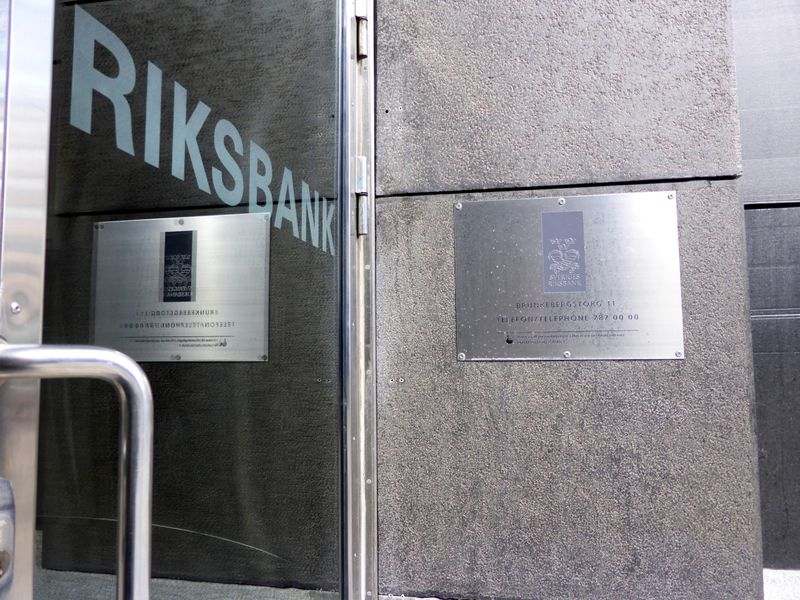 Swedish Riksbank holds course, no rush to exit pandemic policies