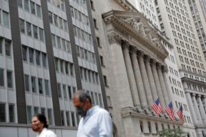 Wall St set to drop at open on growth worries; focus turns to Fed