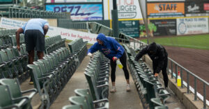 A Flooded Stadium Went Viral, but the Somerset Patriots Didn't Quit