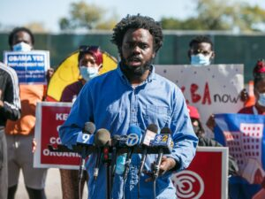 Activists fearing ripple effect of Obama Presidential Center call for affordable housing protections in South Shore