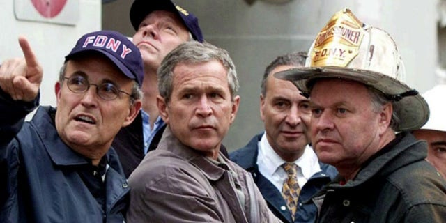 Andrew Giuliani: 9/11 first responders pulled off 'one of the greatest rescue missions' in US history