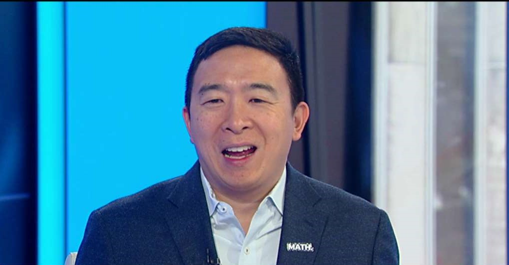 Andrew Yang no longer a Democrat, will launch third party