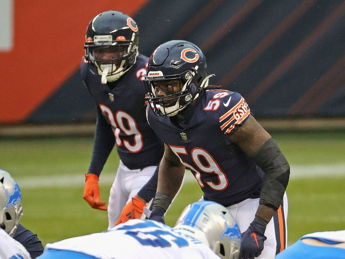 Bears' Danny Trevathan heads to injured reserve