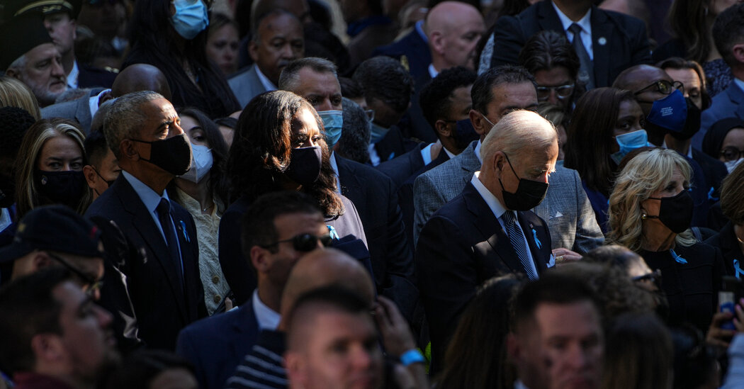 Biden and Bush Urge Unity as Nation Remembers Sept. 11