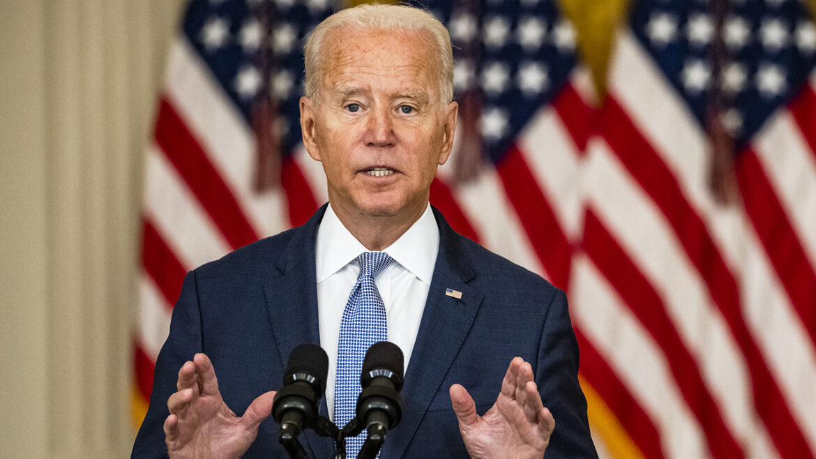 Biden blames storm damage in northeast on climate change, calls on Congress to pass infrastructure bill