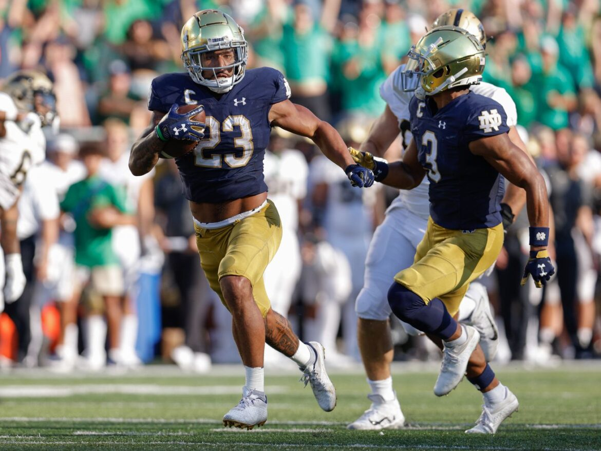 Brian Kelly ties Knute Rockne as No. 12 Notre Dame holds off Purdue