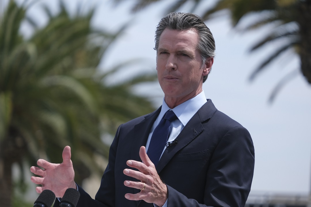 California Gov. Newsom sees surge of support as recall election looms, poll shows