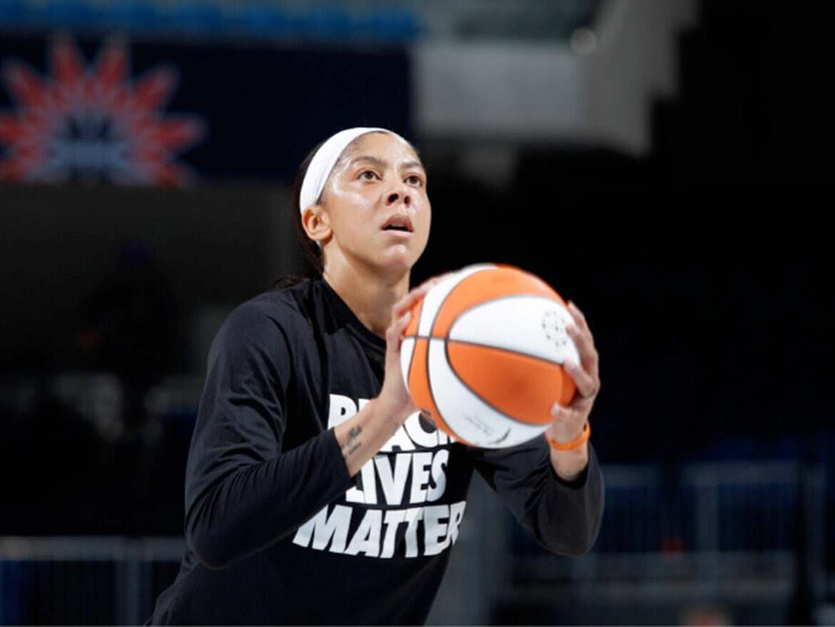 Candace Parker has big game, but Sky fall to Aces