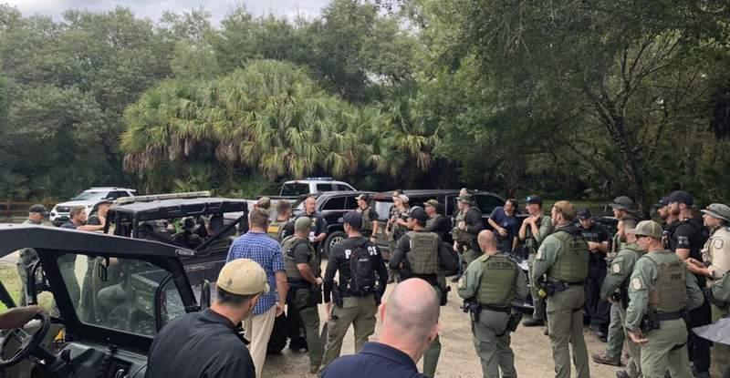 Agents search in Wyoming for woman, in Florida for fiance