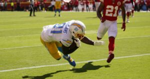 Chargers' 30-24 road victory over the Chiefs by the numbers