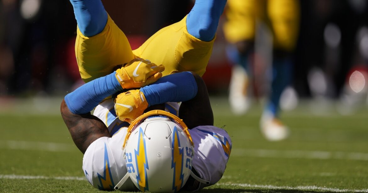 Chargers corner Asante Samuel Jr. is NFL's defensive rookie of the month