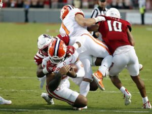Clemson's streak of top-10 rankings comes to an end