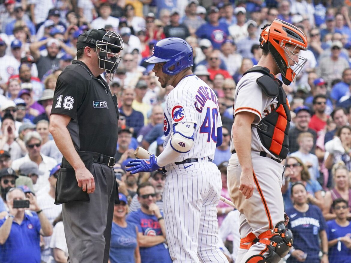 Cubs fight hard, but Giants complete three-game sweep