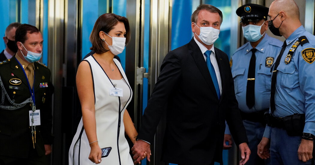 Bolsonaro's Wife Was Vaccinated During Their Visit to New York