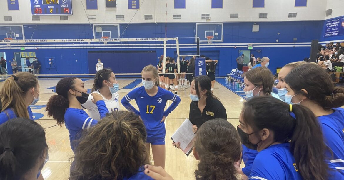 El Camino Real is rising up with 15-match winning streak in girls' volleyball